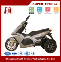 Super F700,Cheap adults 60V 2000W electric tricycle with Lead Acid Battery for Sale