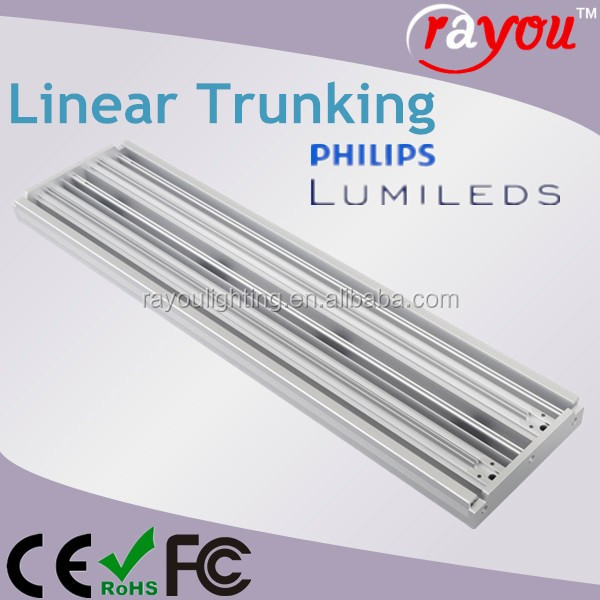alibaba express china led high bay fixture,linear led high bay light,trunking system led for supermarke