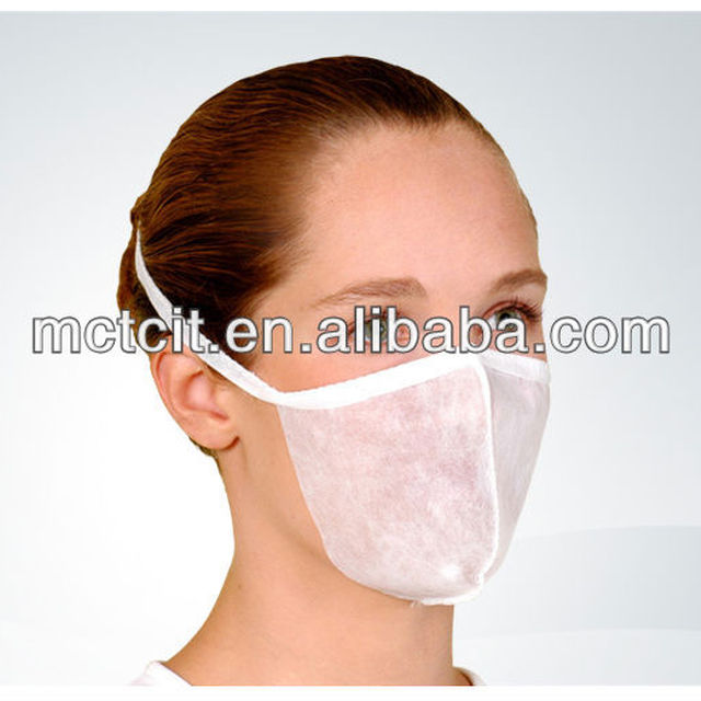 air pollution disposable nonwoven 3ply face mask