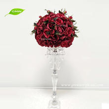 GNW CTRA-1708004 India wedding flower table decor in red