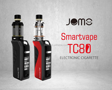 2017 The lastest electronic cigarette Smartvape TC80 mod starter kits huge OLED vape mods box mod in UK market