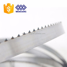 band saw blade welding with carbide and stellite two alloys
