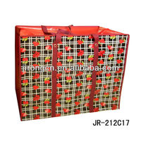 Fashion designs travel high quality pp woven shopping bag Large Size bag