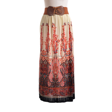 ladies fashion ice silk skirt women popular long casual skirt