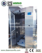 Efficiency 99.995% Cold Steel Cleanroom Air Shower / Medical Portable Clean Room