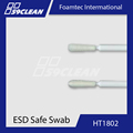 Foamtec HT1802 Semi-Flexible Small Bulb Tip ESD Foam Swab For Cleanroom