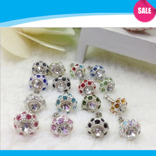 Crystal ball anti dust plug for iphone 4/3gs/3g/ipad/samsung galaxy