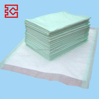New products breathable medical non woven 40x60cm/60x90cm/75x75cm mattress absorbent under pad with fluff