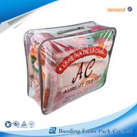 alibaba express Turkey eco-friendly blanket pvc jumbo storage bags