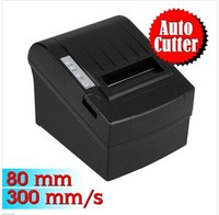 "80mm Mini 3 1/8"" POS Receipt Thermal Printer Auto Cut,300 mm/sec High-speed Printing,Compatible ESC/POS Command"