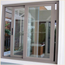 2017 America most popular hot sell strong with cheap price double-layer toughened glass Aluminium sliding window and door