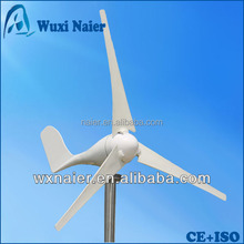 Green energy wind power generator with goodlooking 200w 12/24v controller provided