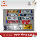 reflective license plate frame, license plate number reflective