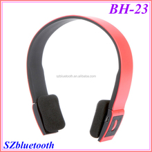 Free custom logo print low price headband stereo bluetooth wireless earphone BH23