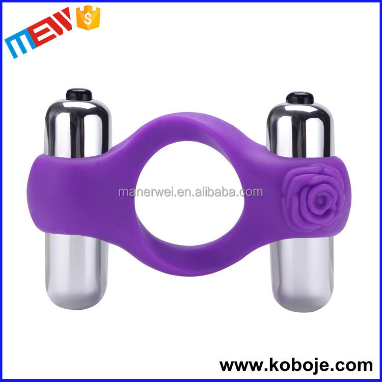 Strong power delay ejaculation purple hot realistic vibrating penis sleeve