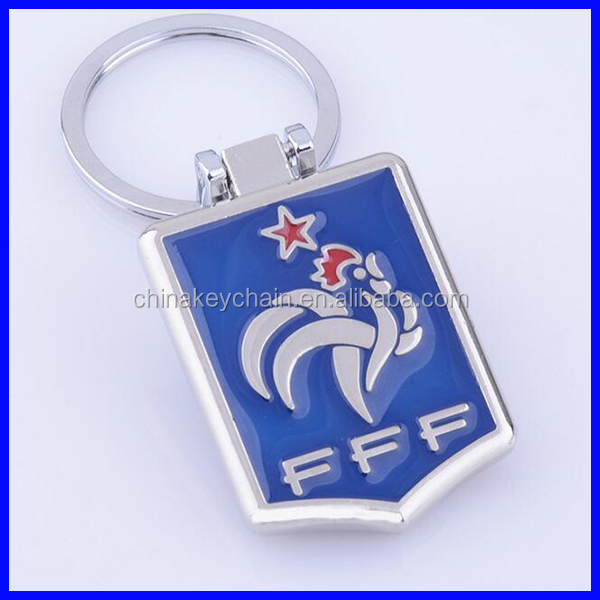Official Football Club Metal Badge Keychain Key Ring Soccer Souvenir Gift