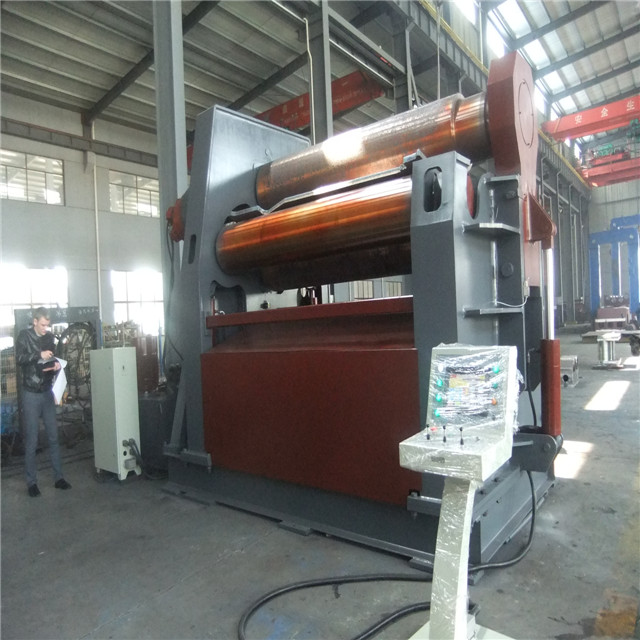 HDLW12-25*2500 NC 4-Roll Hydraulic <strong>Rolling</strong> <strong>Machine</strong>, 4 Roll Plate Bending <strong>Machine</strong> for Wind Tower