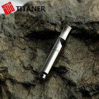 2015 Hot Sale Outdoor Camping Hiking Kits First Aid Kit Emergency Survival Titanium Whistle