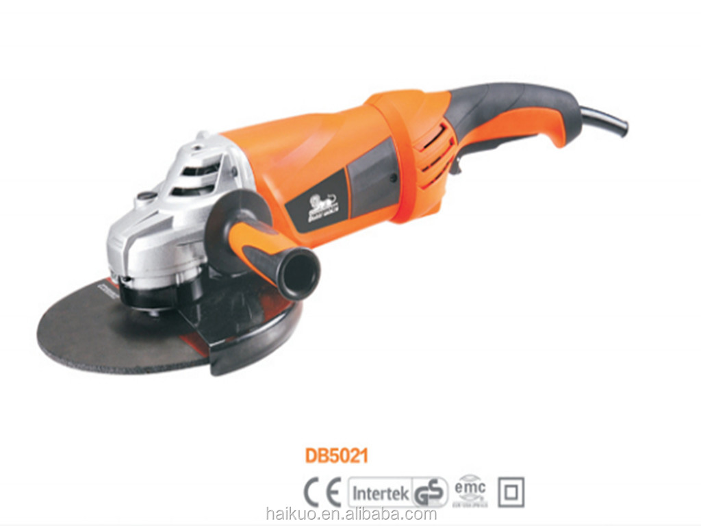 DB5021 180MM/230MM 2000W 15A Electric Angle Grinder Power Tool Semi-Professional Quality OEM Brand
