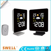 Modern color screen calendar clock , different type of digital clock