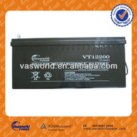 HOT sale 12V200AH Solar battery/sealed lead acaid battery/AGM battery with low price