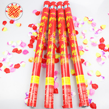 rose party popper for pirates hat 40cm wedding pink party fireworks and firecrackers