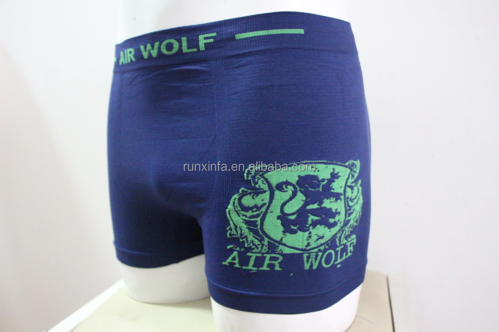 Men seamless underwear cuecas boxer Accepted OEM orders