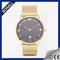 Wholesale high quality quartz watch,Unisex vogue watch Most Popular,Gold watches