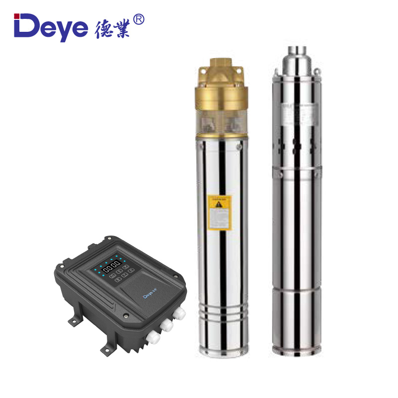 Three years warranty solar powered stainless steel deep well submersible pump DC 96V 1100W water solar pump