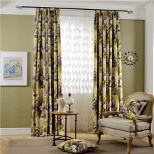 5 Star Staples Polyester Window Curtains Flower Shower Curtain Blackout Curtain