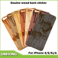 Ultra Slim Craved Wood Back Sticker Case For iPhone 5,For iPhone 5 Wood Case