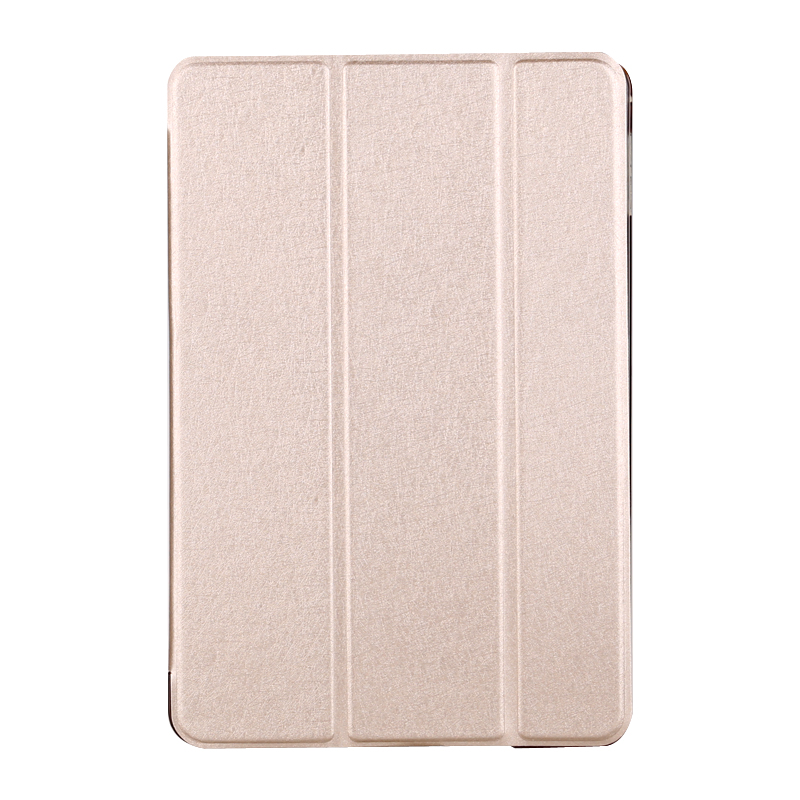 Ultra Slim Silk Leather Tri-Fold Smart Case for iPad mini/air/Pro,Slim Leather tablet case
