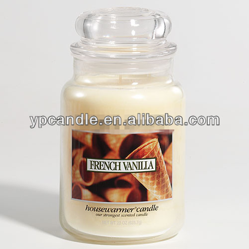 scented candles/soy candles