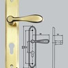 Brand New Type Sliding Door Hardware