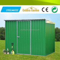 high-quality prefab flat roof steel building wholesale