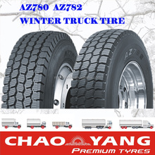 Good quality truck tire strong tyre manufacturer/supplier in China supplying winter truck tire AZ780 AZ782 11R22.5 11R24.5