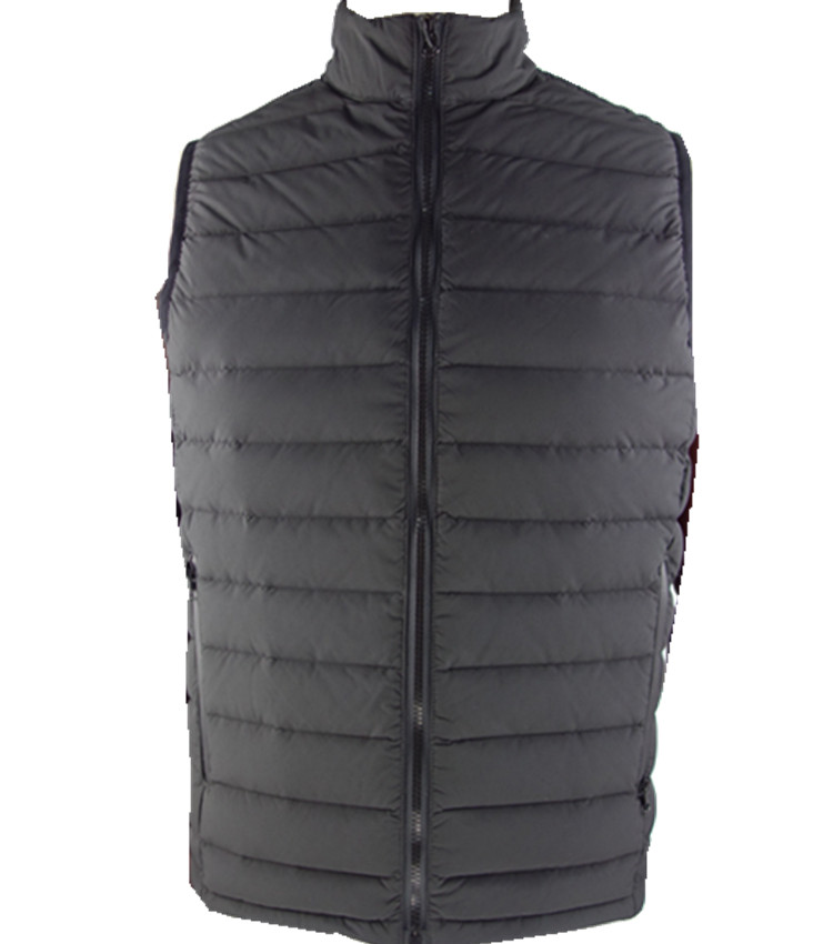 Custom mens winter padded down waistcoat