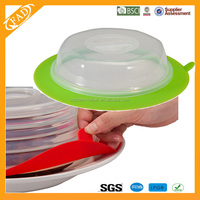 Eco-friendly food grade colorful silicone cooking lid