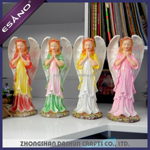 Newest polyresin christmas angel crafts for kids