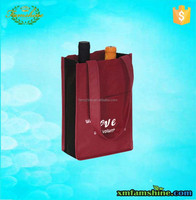 nonwoven recycled bottle wine bag