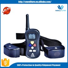 2016 Remote Training Dog Shock Collar For Humans Dog Slave Shock Collar E-collar Electric Dog Collar China PTS008