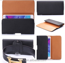 PU Leather Magnet Flip Belt Clip Holster Case Pouch Sleeve Cover for Blackbery Z30
