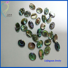 Fashion Oval Cut Raw Abalone Shell Pieces For Jewelry Making