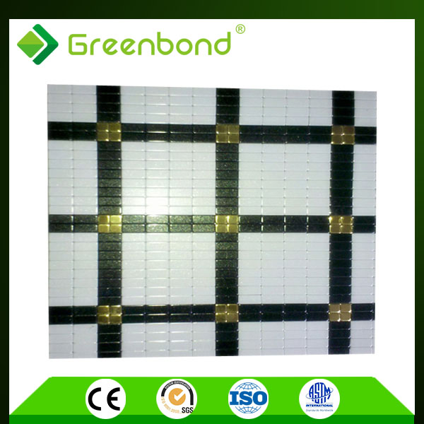 Greenbond plastic wall covering acp acm composite panel