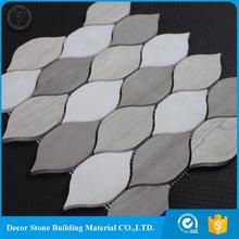 wholesale leaf glow in the dark mosaic tile for