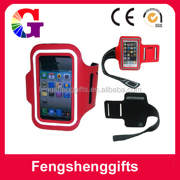 2014 Personalize Running Jogging Sports Gym sport armband for iphone 5 5S 5C , with key pocket can do customer logo