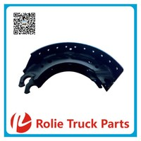 65426 Bpw heavy duty lorry oem 0509127830 trucks actros spare parts Unlined brake shoe and semi-trailer brake drum