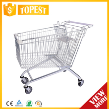 Convenient european supermarket shopping cart HAN-E150 2919