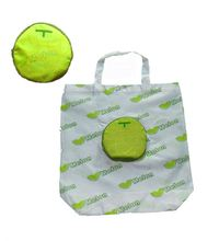 Hot Folding Fruit Shape Reusable Promotion Folding Shopping Trolley Bag With 2 Wheels