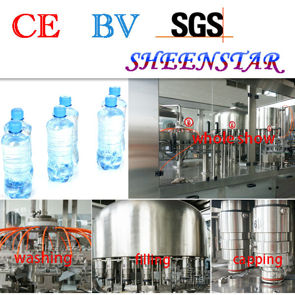 Bottled water packaging machine